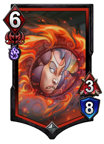 Fire Doom Mirror  BOA